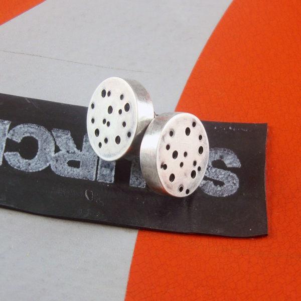 Moonscape Stud Earrings