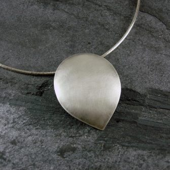 Petal Silver Pendant