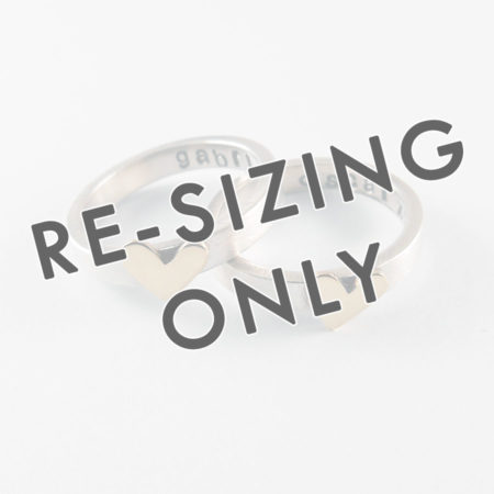 Resizing Of Personalised Ring