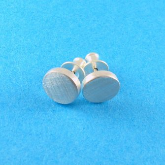 Dot Sterling Silver Stud Earrings