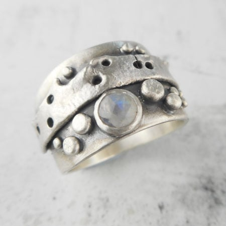 One of a kind Relik ring from Carin's Moonstone Jewellery Collection in the UK