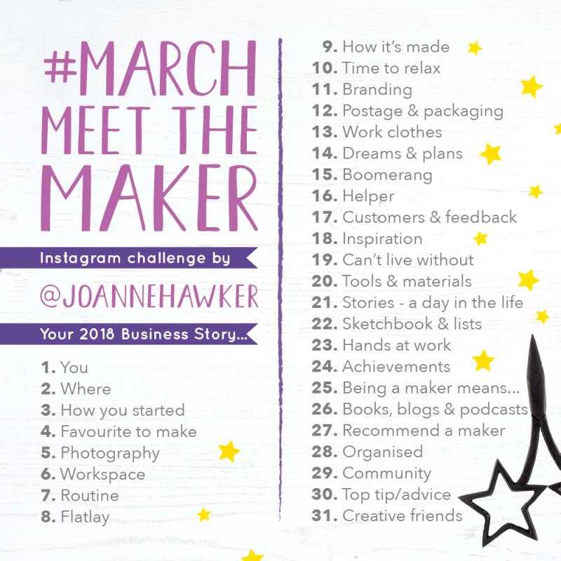 March Meet the Maker topics