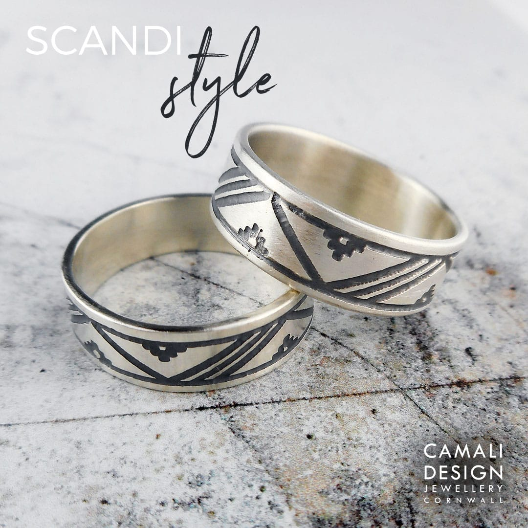 Norse jewelry for women Thumb ring Simple ring