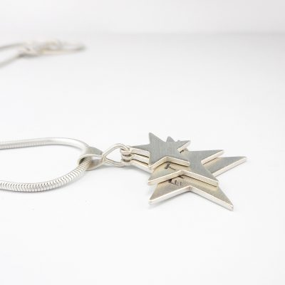 Triple Star Pendant commission