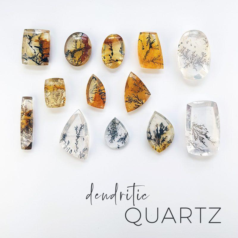 dendritic quartz with fernlike inclusions
