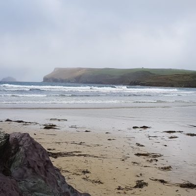 Photoshoot at Polzeath beach
