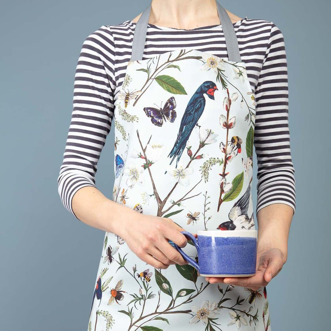 Particle Press: Barn Swallow apron