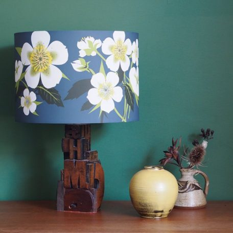 Alison Bick Designs; Hellebore Flower Lamp Shade