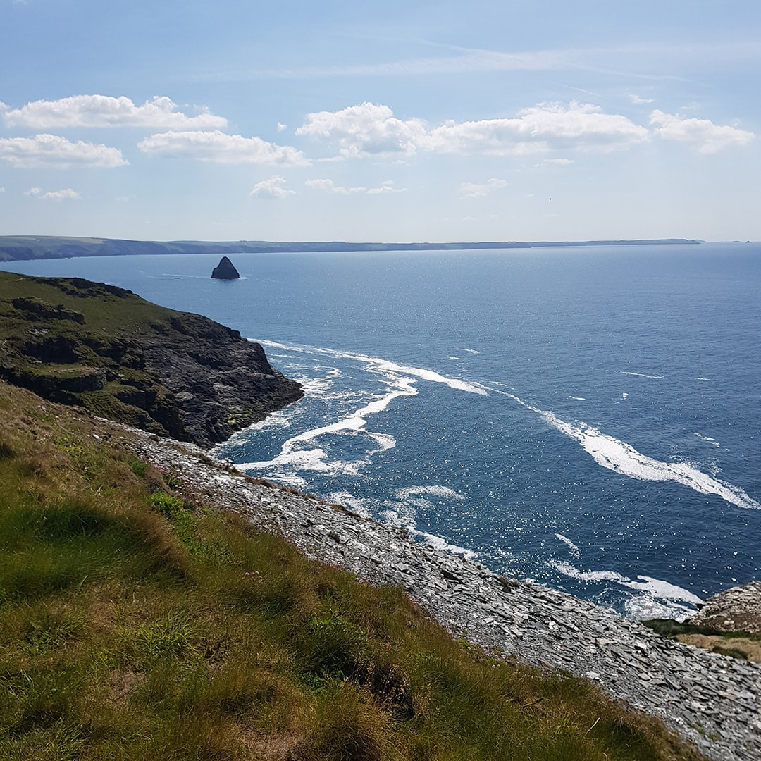Glorious view from YHA in Tintagel, Cornwall