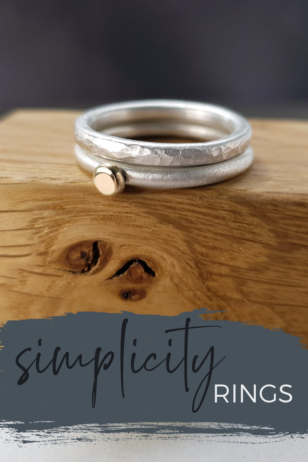 Simplicity stacking rings