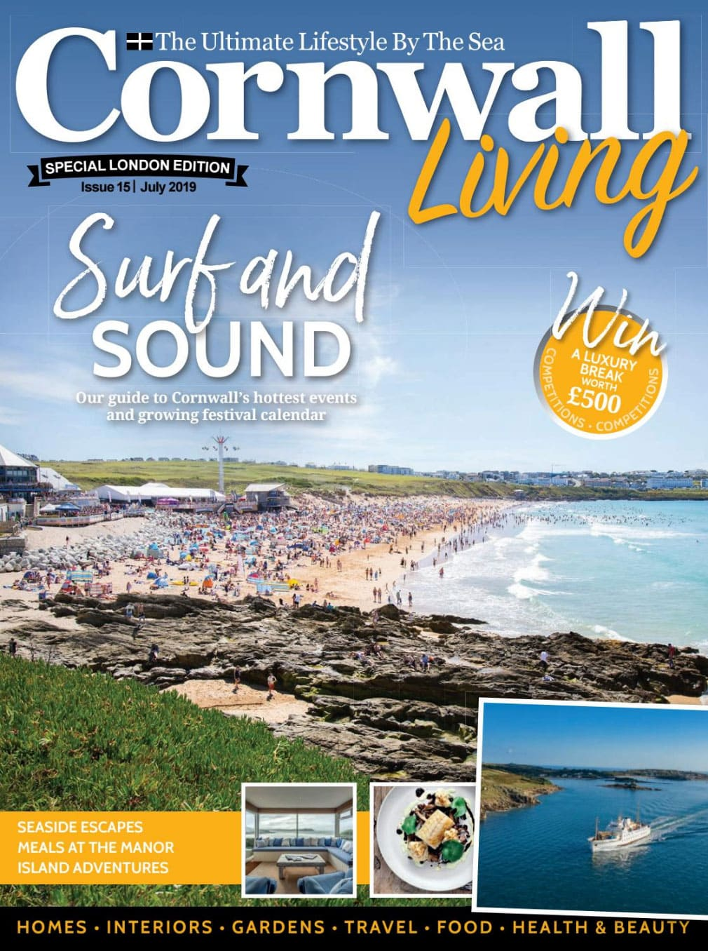 Cornwall Living July London Special Edition