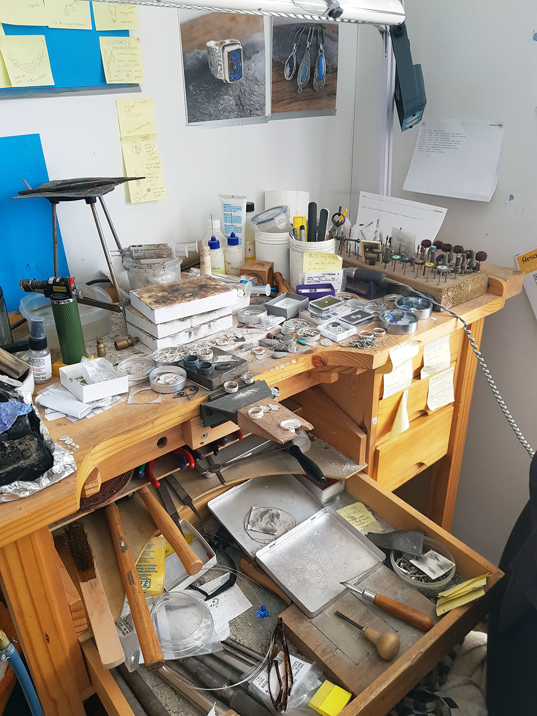 Bench mess or creative space?