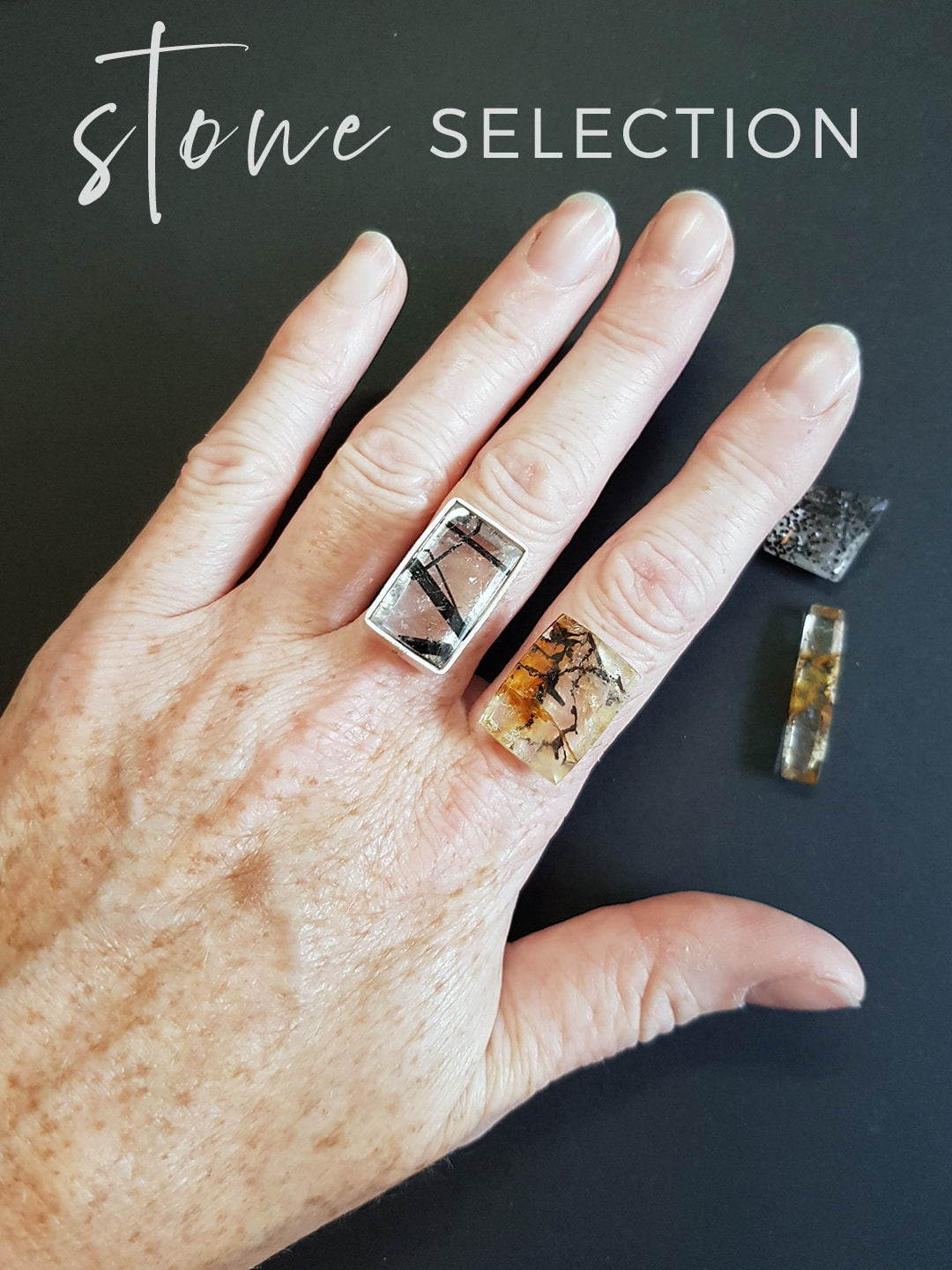 How to select a stone for a ring commission