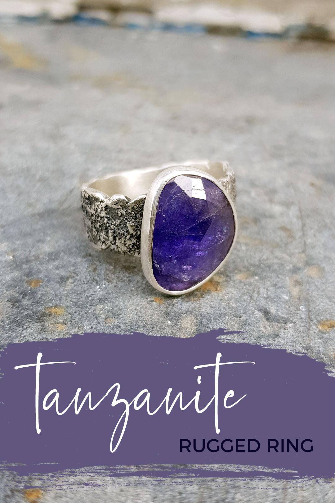 Annika's Tanzanite Ring