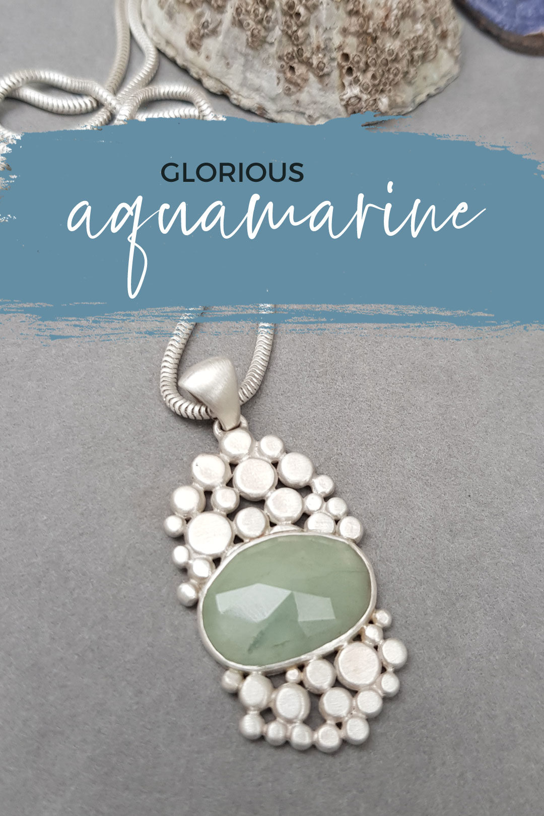 Aquamarine for winter and spring alike