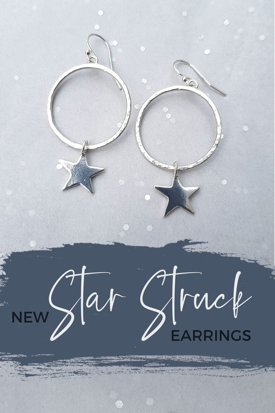New Star Struck hoop earrings