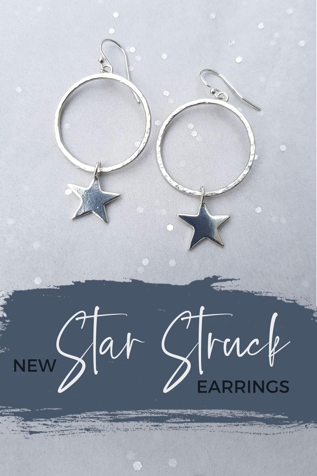 New Star Struck hoop earrings
