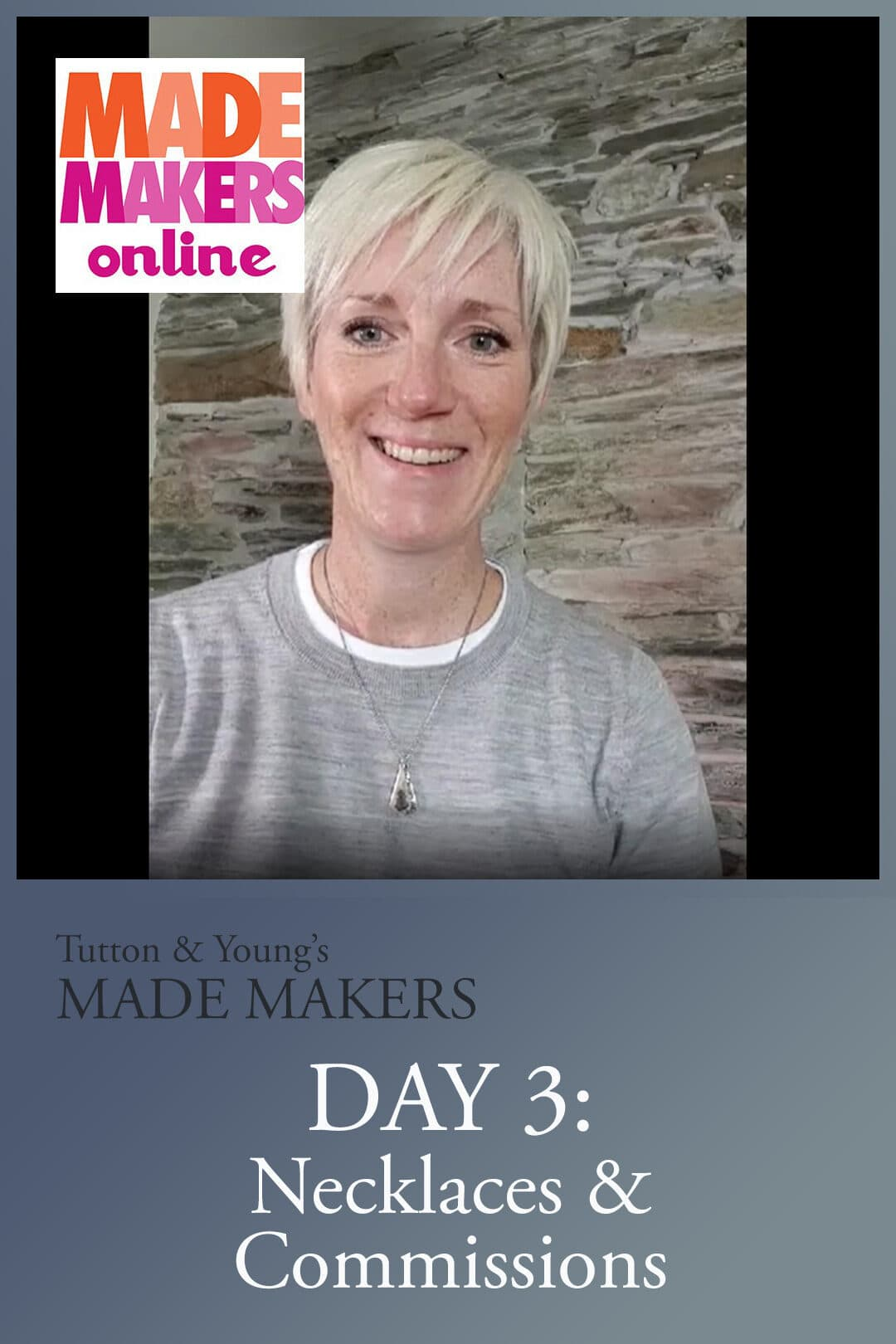 Day 3 of MADE Makers online November 2020
