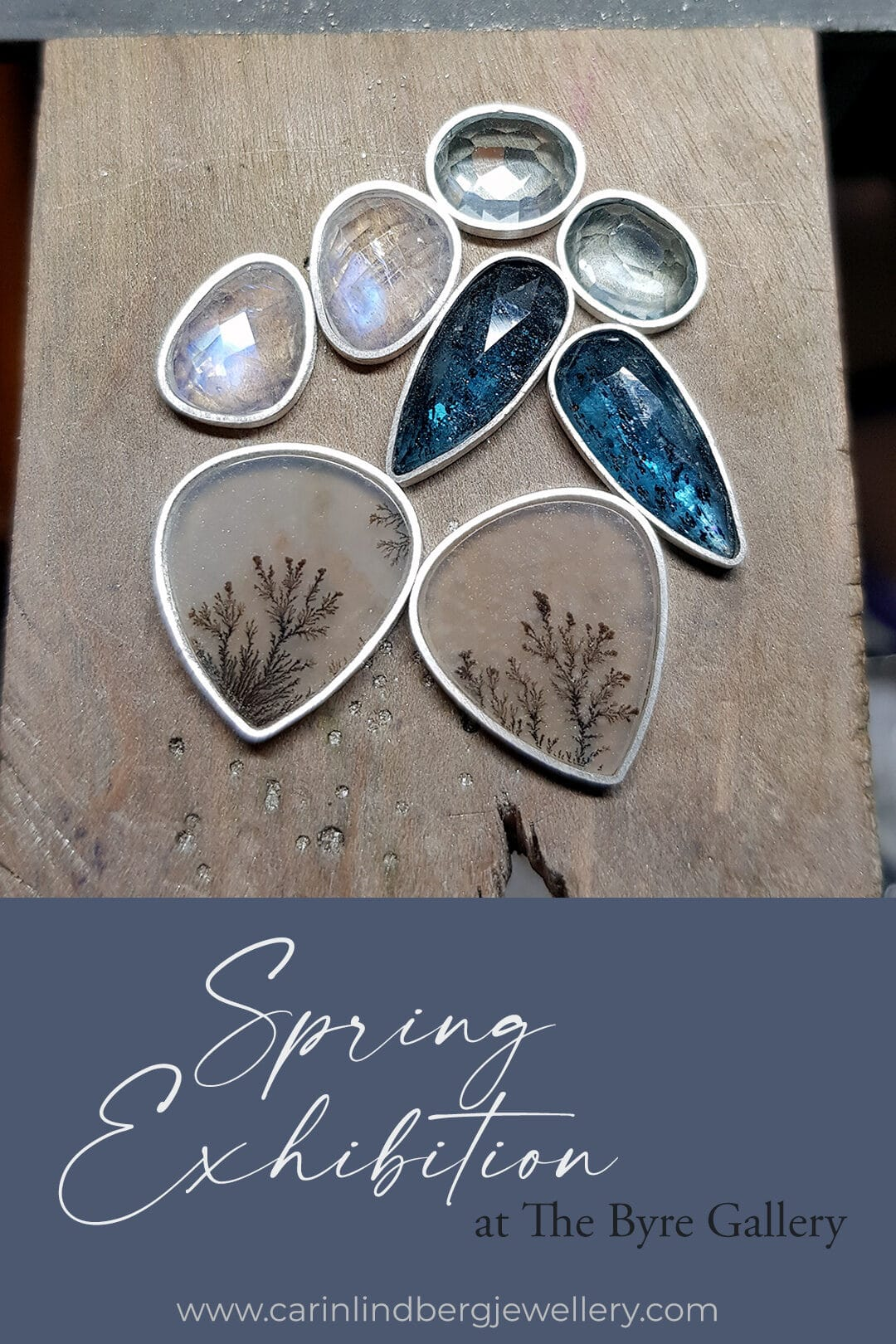 Preparing for the spring exhibition at The Byre Gallery